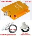 Mais novo 60dbi Ganho GSM 850 MHZ Reforço de Sinal de Telefone Celular CDMA 850 + 13db Yagi Antenna! CDMA de Telefonia móvel Repetidor Amplificador Booster