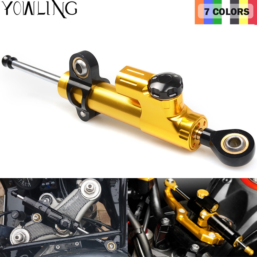 MT07 MT09 YZF R1 R6 R3 Z800 Z750 Z1000 ER6N ER6F Motorcycle Accessories Stabilizer Damper Steering