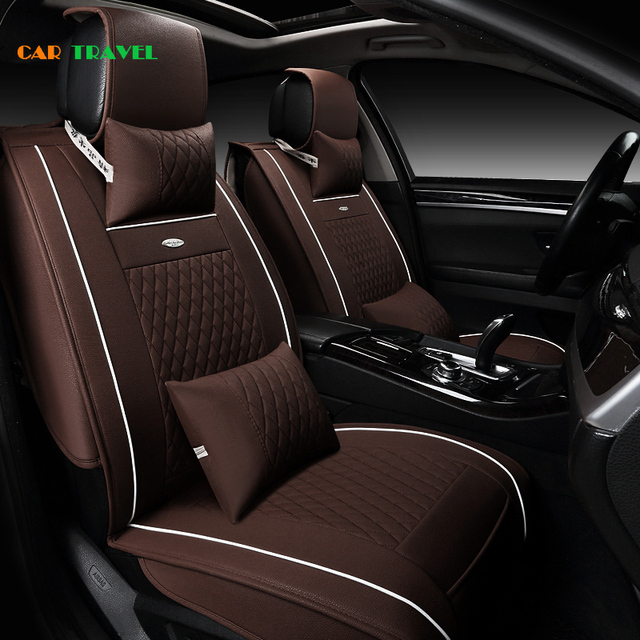 Front + Rear) Special Leather car seat covers For BMW e30 e34 e36 ...