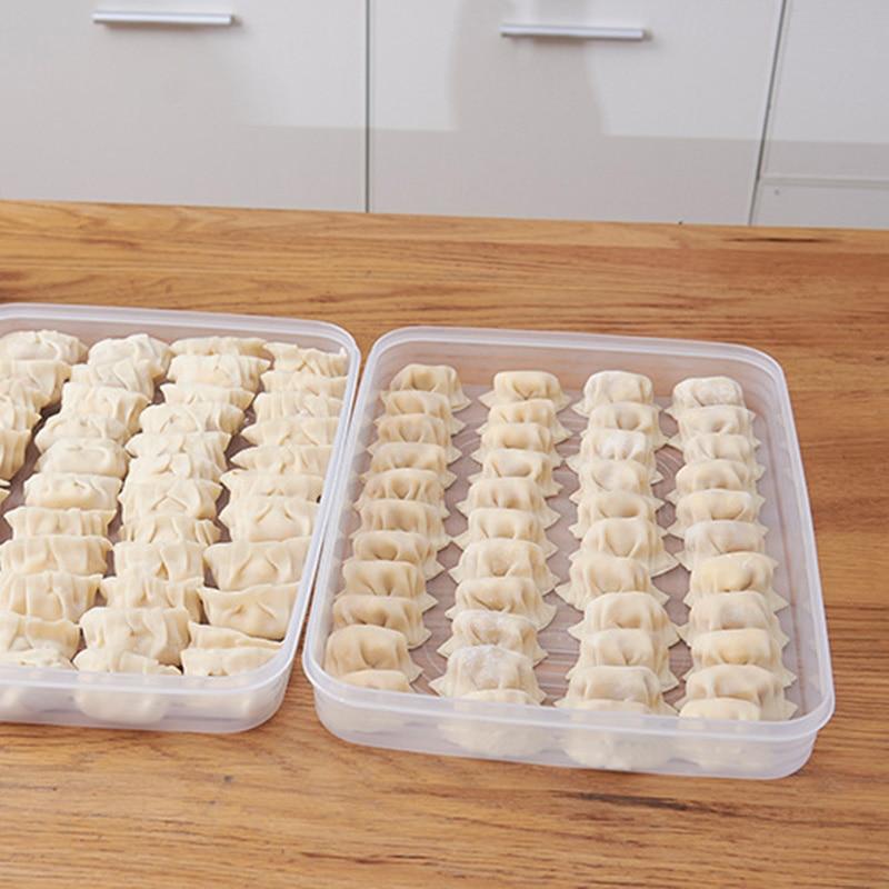 Cakes Dumpling Refrigerator Large Storage Box Cakes Food