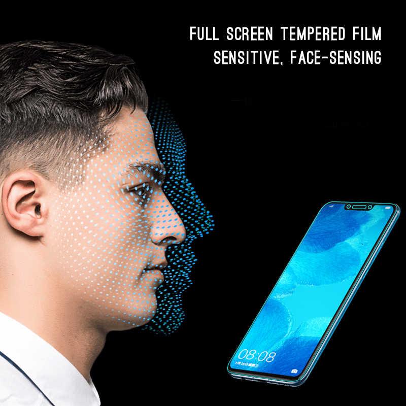 2.5D كامل غطاء الزجاج المقسى لهواوي نوفا 3 3i 3e 2i واقي للشاشة فيلم لهواوي نوفا 3 3i 3 Nova3 5T زجاج واقي