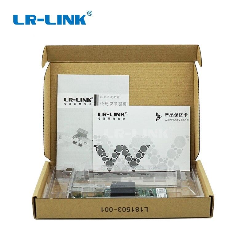 Image 5 - LR LINK 9252PF SFP Gigabit Ethernet PCI Express x1 Dual Port  Adaptador de Cartão de Rede De Fibra Óptica (NIC) compatível I350 F2  Para PCPlacas de rede