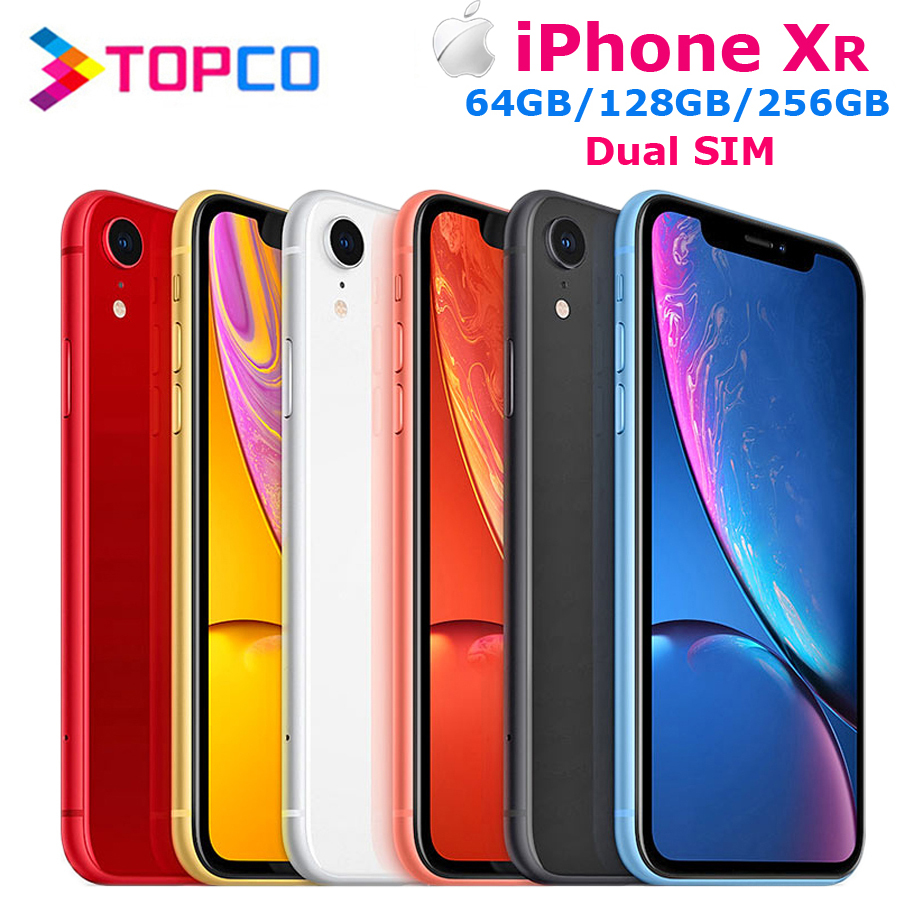 Apple IPhone XR Factory Unlocked Original Mobile Phone Dual SIM 4G LTE 6.1