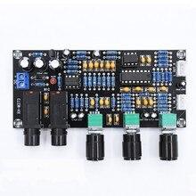 Placa amplificadora digital XH-M273 pt2399, placa de amplificação, reverberação, karaoke, reverb, amplificador ne5532, pré-amplificador, tom