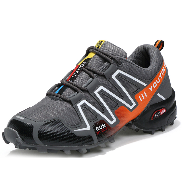 Men Outdoor Sneakers Brand Hiking Shoes Men Trekking Mountain Climbing Sneakers Tactical Shoes Walking Anti-skid Botas Tacticas