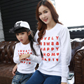 Family Look 2017 Autumn Spring Family Clothing Long Sleeve Cotton Mother Daughter  Baby Girl  Clothes Family Matching Clothes