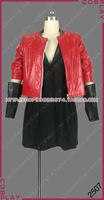 Avengers: Age of Ultron Wanda Maximoff Scarlet Witch Uniform Outfit Cosplay Costume S002