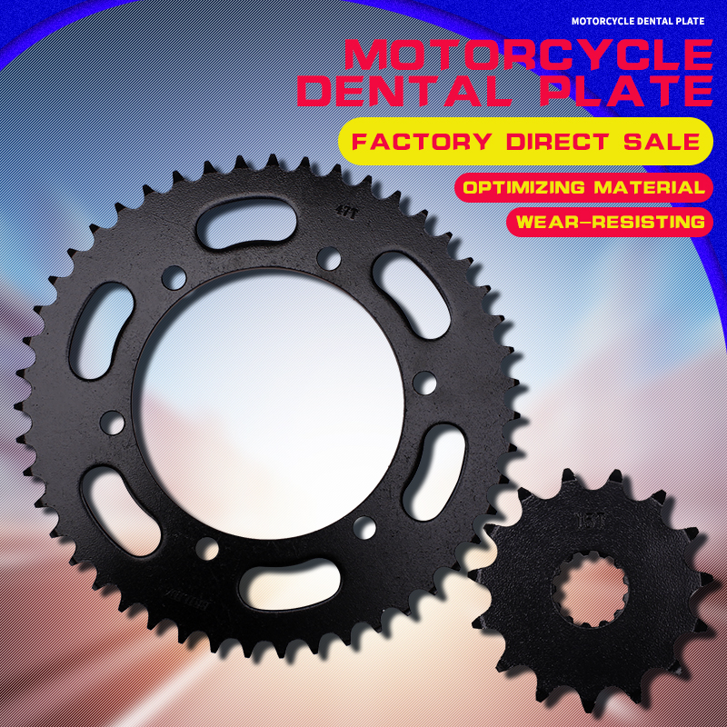 Motorcycle Accessories Front and Rear Sprocket Chain For FZ FZ