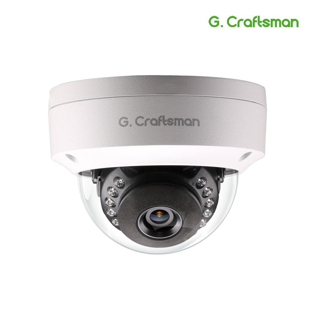 G. rzemieślnik 5MP POE aparat IP HD na świeżym powietrzu wodoodporna kamera na podczerwień widzenie w nocy Onvif 2.6 wideo CCTV nadzoru bezpieczeństwa P2P e mail w Kamery nadzoru od Bezpieczeństwo i ochrona na AliExpress - 11.11_Double 11Singles' Day 1