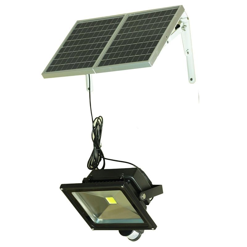 50W Solar Pir Sensor Light Led Motion Sensor Light