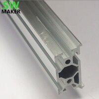 Swmaker shapeoko 1 desktop diy impressora 3d cnc makerslide perfil de extrusão alumínio 375mm * 3 pçs + 200mm * 1 pçs kit/conjunto