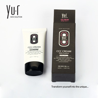 HIGH END Korea MICRO CAPSULE TECHNOLOGY YU R CCC CREAM For Skincare Foundation Primer Flawless Hydration