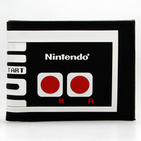 Nintendo Machine Wallet Black And White The Game Wallet Young Boys And Girls XueShengChao Card Short