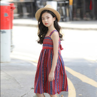 Summer Beach Sun Dresses for Girls 10 years