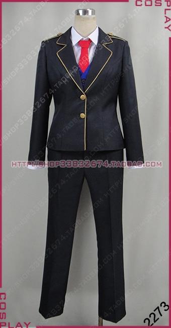 RWBY Beacon Academy Male Cosplay School Uniform