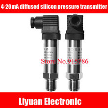 Transmisor de presión de silicona difusa 4 20mA, Sensor de presión de suministro de agua, 0 5V, 0 10V, sensor de presión de gas, venta al por mayor de fábrica