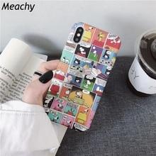 Meachy Cute Cartoon Hard Plastic Phone Case Cover For Huawei P20 P30 Pro Lite P10 Plus Honor 10 9 8X 20 V20 V10 9i Mate