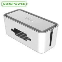 Ntonpower人民元ハードプラスチック電源ストリップ収納ボックスケーブルワイン