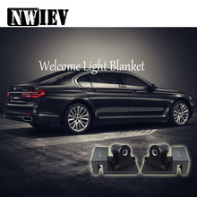 NWIEV For BMW E90 F10 x5 Audi A3 C5 C6 Hyundai i30 ix35 ix25 LED Ghost Shadow Laser Projector Turning Warming Light Accessories