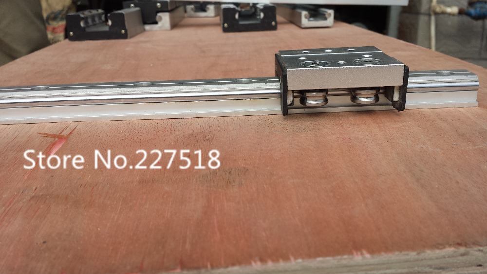 High speed linear guide roller guide external dual axis linear guide LGD12 with length 500mm with LGD12 block 100mm length high speed linear guide roller guide external dual axis linear guide lgd12 with length300mm with lgd12 block 100mm length