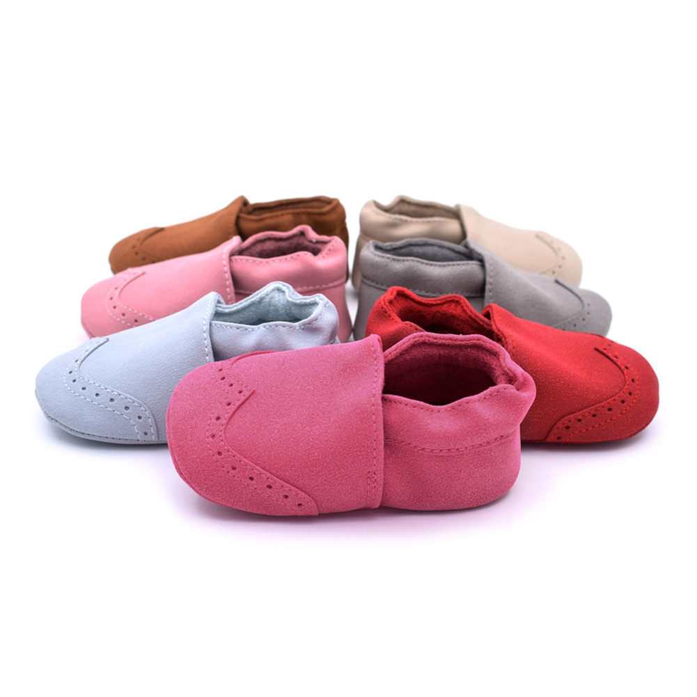 Spring Baby Shoes Indoor Warm Toddler Nubuck Leather Shoes Infant Girl Boy Soft Sole Anti Slip Shoes Baby Moccasins First Walker