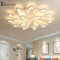 Acrylic Modern Led Chandelier For Living Room Bedroom Dining Luminaire LED Ceiling Chandelier Lighting Fixture Lamparas