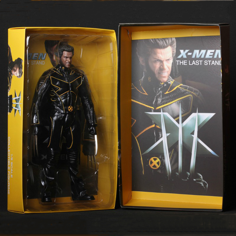 1/6 Scale X Men The last stand Warrior Wolverine Super Hero Captain America Marvel 29cm Model Action Figure Children Toy Gift saintgi x men the last stand wolverine super hero captain america marvel pvc 29cm x men model action figure doll boy toy gift