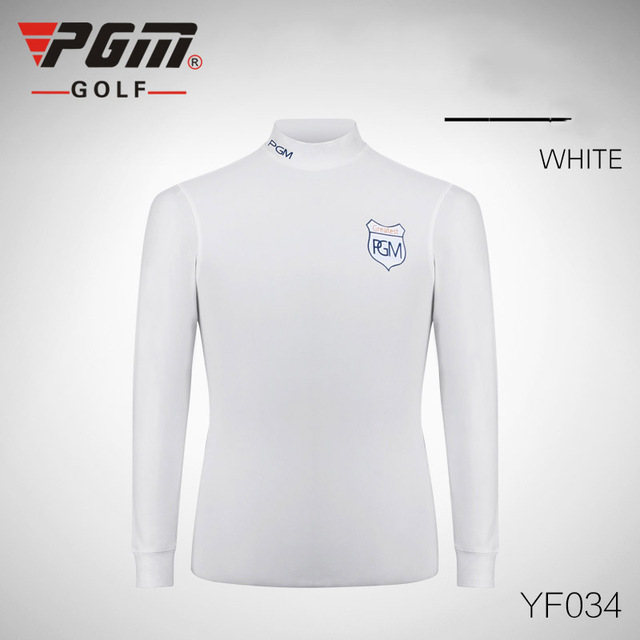 Top quality pgm golf men 39 s shirt clothing long sleeved for Best quality mens white t shirts