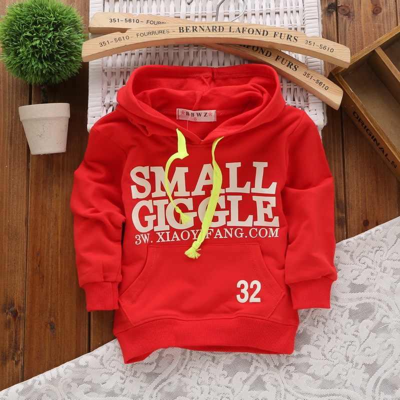 어린이 소녀 스웨터 코튼 소년 후드 1-3 년 어린이 아기 스웨터 유아 Moletom 봄 여름 유아 소녀 옷