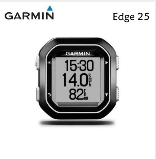 Garmin Edge 25 Bike GPS Streamline Version Computer Edge 20/25/200/520/820/1000/1030 original garmin quarter turn bike mount for garmin edge 25 130 200 500 510 520 800 810 820 1000 1030