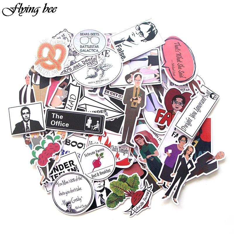 20sets/lot ( 46pcs/set) Office funny  Graffiti Funny Waterproof PVC Stickers for Suitcase Skateboard Laptop Fridge Sticker X0026