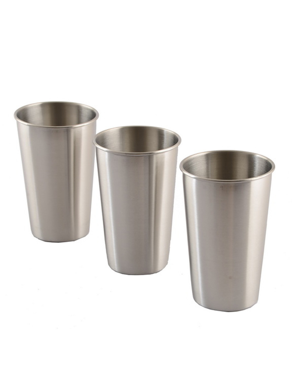 350/500ML Stainless Steel Cups With Juice Beer Glass Portion Cups 16oz Tumbler Pint Metal Kitchen Drinking Mug Bar Supply#