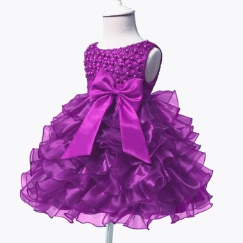 Birthday Baby Girl Dresses Lace Flower Girls Wedding Dress Tutu Dress Baby Girl Baptism Dresses Vestido De Princesa Infantil baby girl dress pink flower sleeveless ball gown princess wedding dresses girls baptism 1 year vestido infantil 6m 4y