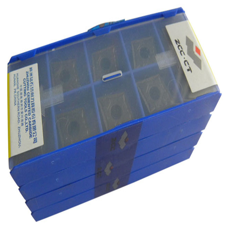CCMT09T302 EF YBG205 Original ZCC carbide insert LATHE TOOL 10pcs lot free shipping