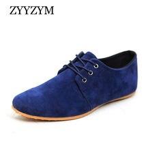 Zyyzym/мужская повседневная обувь на низком каблуке со шнуровкой
