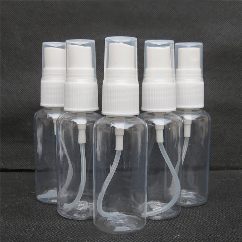 10pcs 30mL Refillable Mist Spray Bottle for Perfume Liquid Cosmetics Plastic Transparent Empty Spray Travel Mini Small Bottle 1set portable travel cosmetics bottling suit empty pressed bottle perfume spray container plastic
