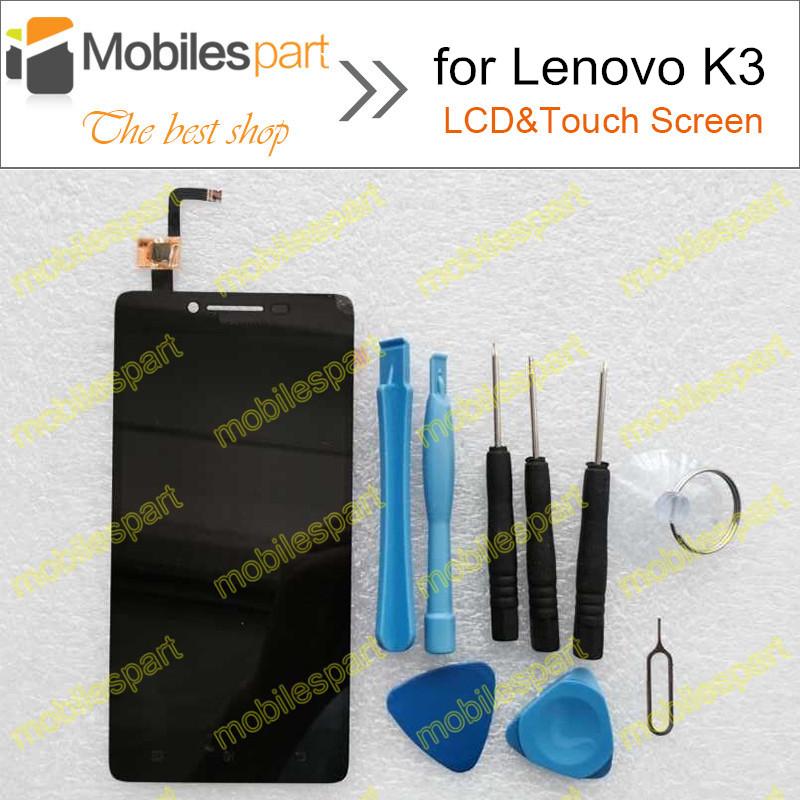 LCD Display +Touch Screen 100% Original Digitizer Assembly Replacement for Lenovo K3 LeMeng K30-T K30-W Cell Phone