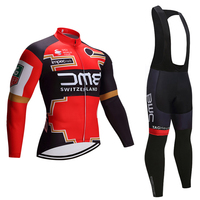 Winter 2018 Switzerland Team Cycling JERSEY Bike Pants Set Mens Ropa Ciclismo Thermal Fleece Bicycle Clothing