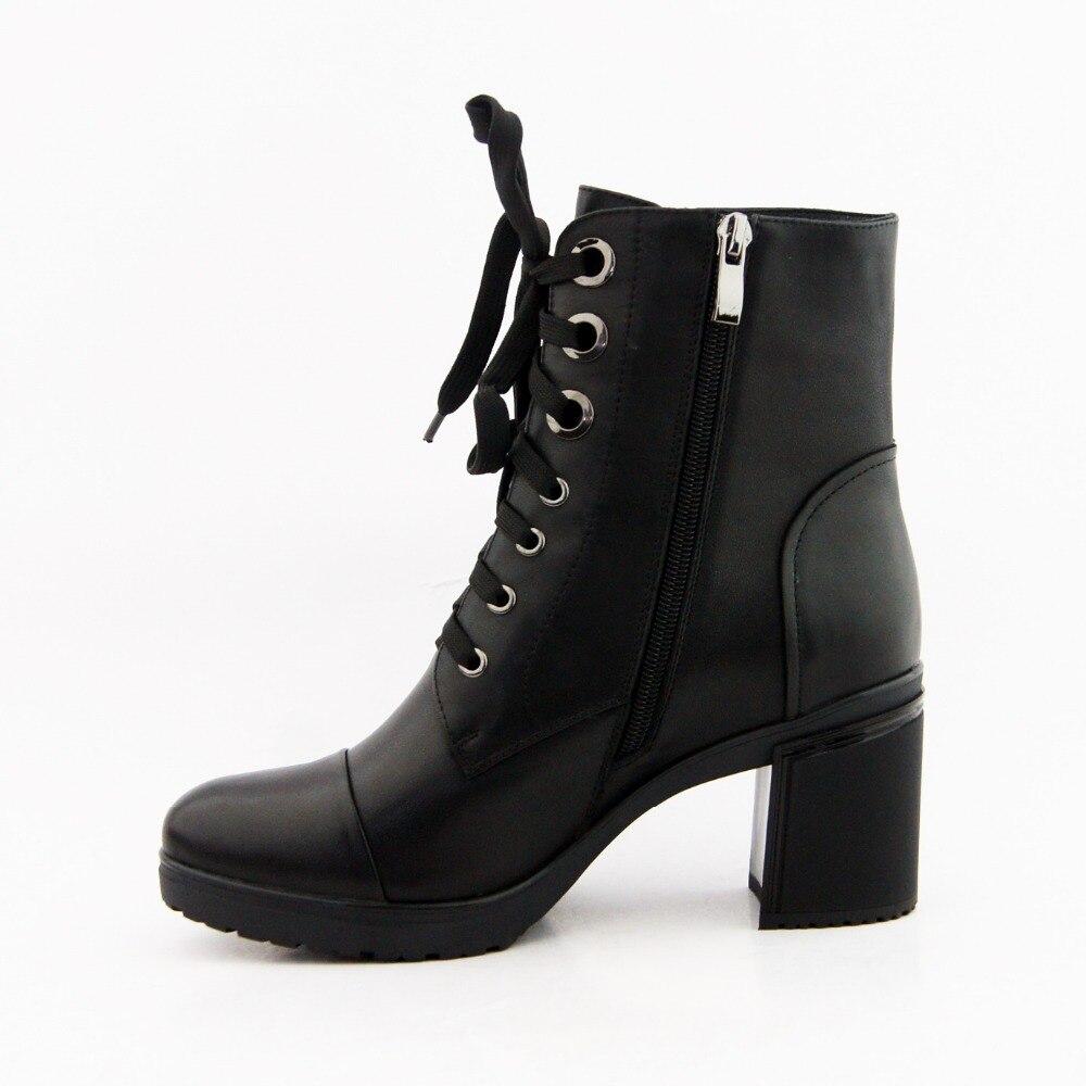 IDizmet e grave LIDIAN çizme prej lëkure origjinale të bëra me - Këpucë për femra - Foto 2