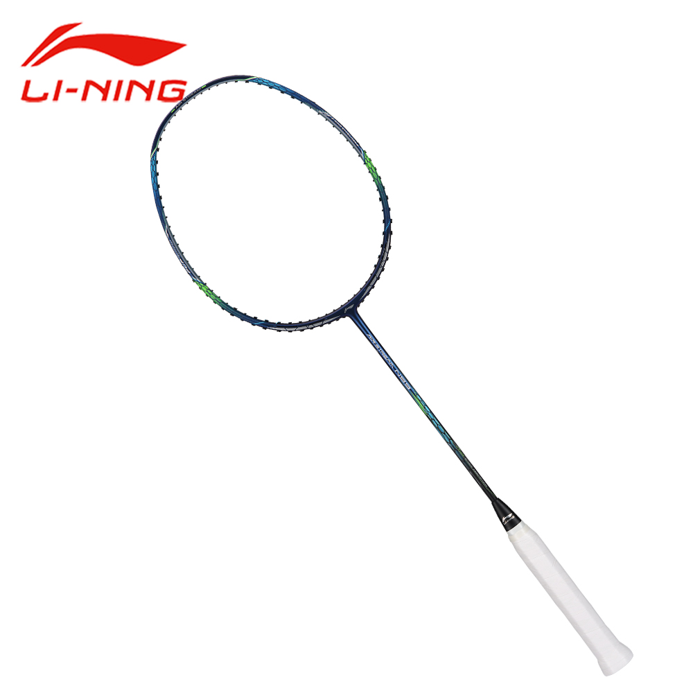Li-Ning Air Stream N99 Badminton Racket Li Ning Offensive Professional Carbon Racket LiNing Single Blue Silver Racket AYPM034 li ning professional badminton rackets carbon offensive type brazil 2016 single racket aypl102 zyf113
