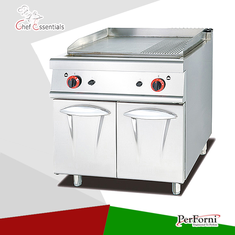 PKJG 9862 Gas Griddle with Cabinet, 900 series, for Commercial ...