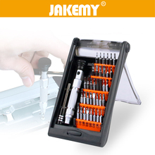 JAKEMY 38 in 1 Precision Multifunction Screwdriver Set Portable Hardware Hand Tools Set for Tablet PC Phone Repair Tool Kit цены