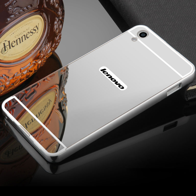 finest selection 81281 1d926 For Coque Lenovo S850 Case Hard Aluminum Metal Frame Bumper Acrylic Back  Mirror Case For Lenovo S850 Covers Phone Cases-in Phone Bumper from ...