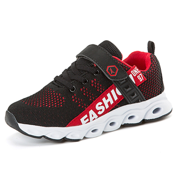 New Breathable Children Shoes 2019 Brand Boys Sneakers Girls Sport Shoes Child Light Leisure Trainers Casual Kids Sneakers Boy's Shoes