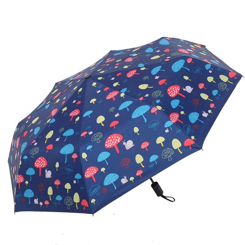 3 taitettava sateenvarjo naisten sade anti-UV-suojan ja sateenvarjo - Kotitaloustavarat - Valokuva 2