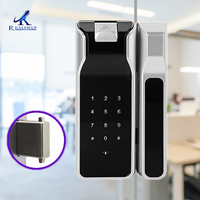 Высокая безопасность биометрический замок на дверь Электронные дверные замки отпечатков пальцев Дверной замок с сенсорной клавиатурой бе