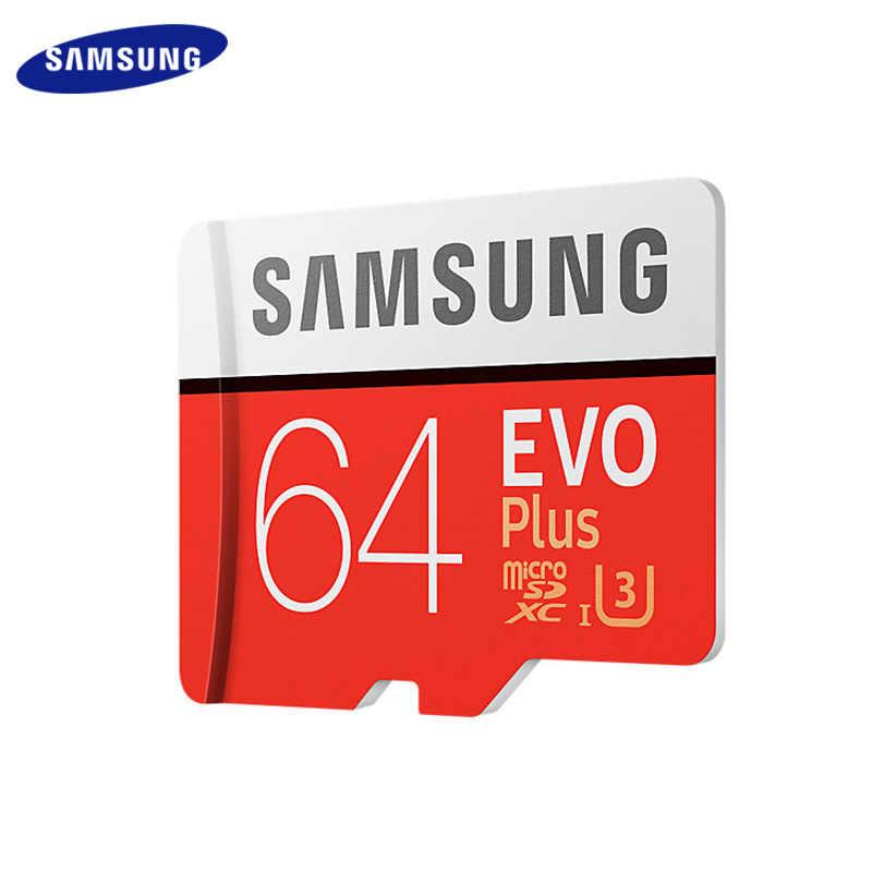 Carte mémoire d'origine SAMSUNG Grade EVO + classe 10 32 go 64 go 128 go carte Micro SD SDHC SDXC classe 10 UHS TF carte Flash
