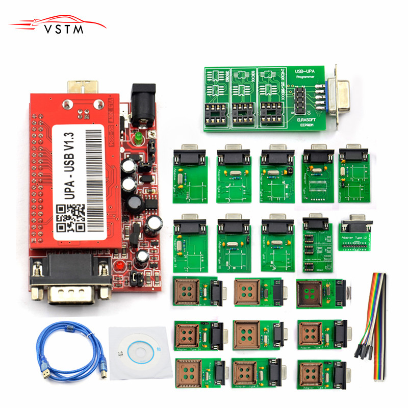 Full UPA USB Programmer V1 3 forVersion Main Unit for Sale UPA USB Adapter ECU Chip Tunning UPA-USB UPA USB 1 3