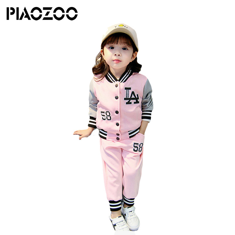 Children clothing set cotton kids outfits Baby little girls clothing set autumn casual Tracksuit suit 2PCS for Girls Sport P20 feather printed round beach throw