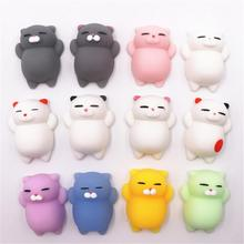 Squishy toys colorful change Antistress Ball cat/seal/fox/pig/Vent chicken cute Amimal squishes slow rising Stress Relief Kawaii
